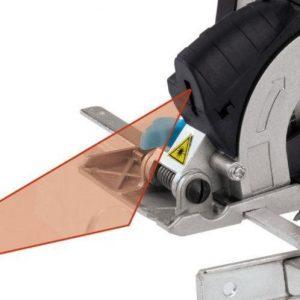 Mini handcirkelzaag laser