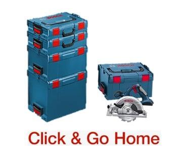 Click & Go Home systeem van het merk Bosch
