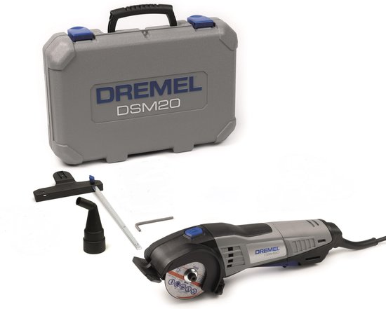Dremel DSM20 + 3-delige accessoireset